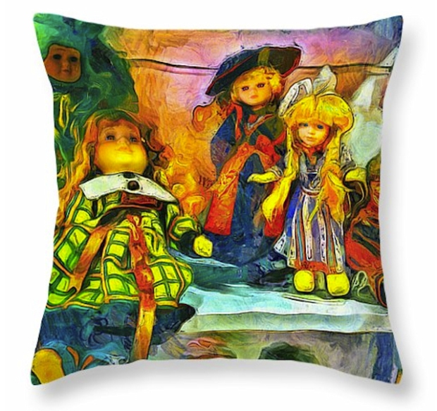 The dolls pillow
