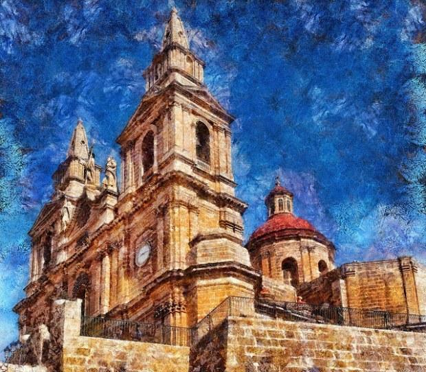 Church Mellieha for blog