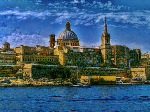 Valletta from Silema for Blog