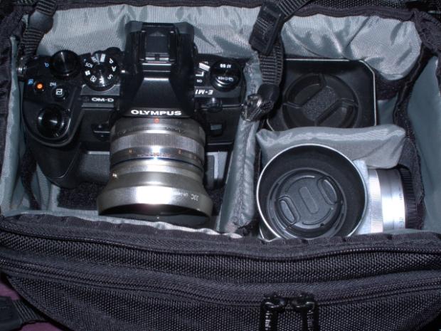 EM1 and lenses for FB