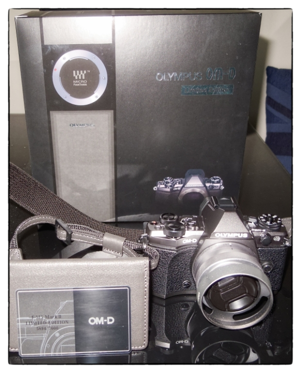 Isn't she beautiful - OM-D E-M5 Mk II Titanium Limited Edition - small