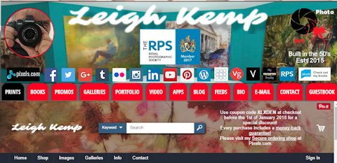 website splash new