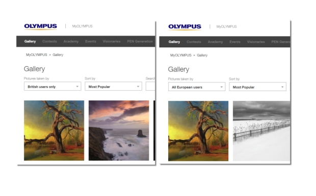 olympus gallery no.1 in UK and Europe 25 04 2018