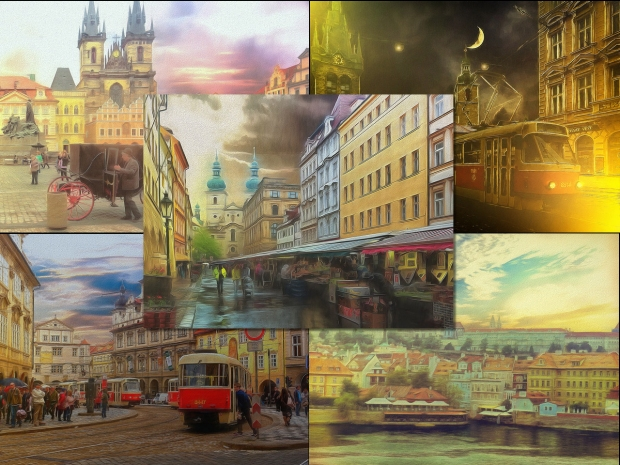 Painterly prague 5