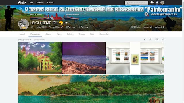 website for blog bio