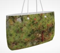 looking up weekender tote bag