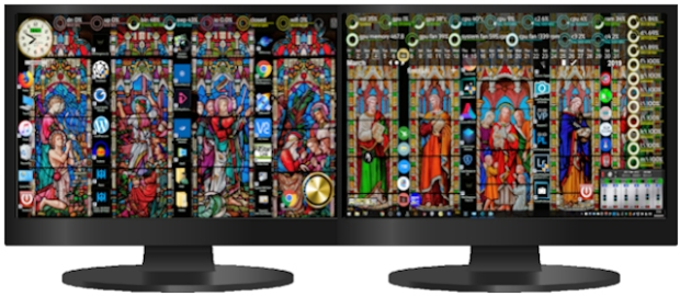stained glass windows desktop