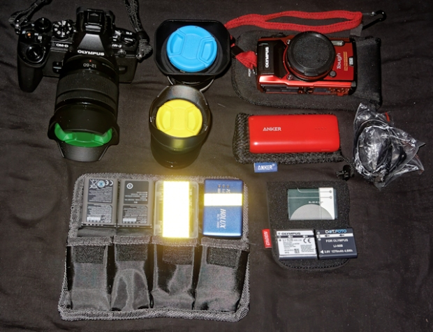 travelling gear new with tg-5 small