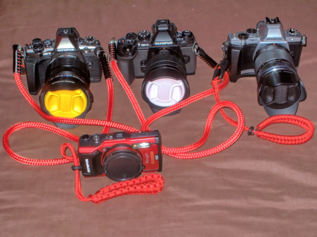Cameras small with cordweaver straps2