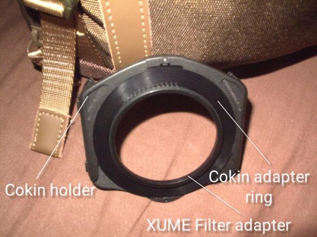 Cokin and XUME 1