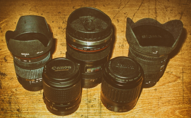 old EF lenses